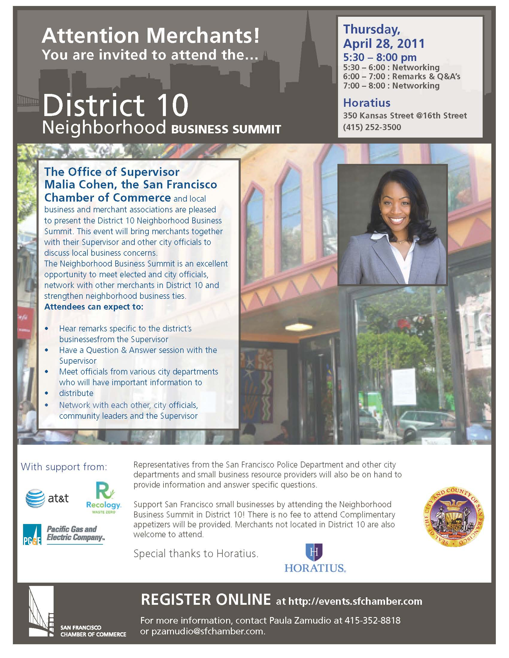 District 10 Neighborhood Business Summit