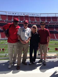 Checking Out the New Levi's Stadium!